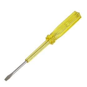 Отвертка индикаторная LOM, пластиковая рукоятка, 160 мм Ош