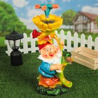 Садовая фигура-Поливалка  «Гном с подсолнухом»