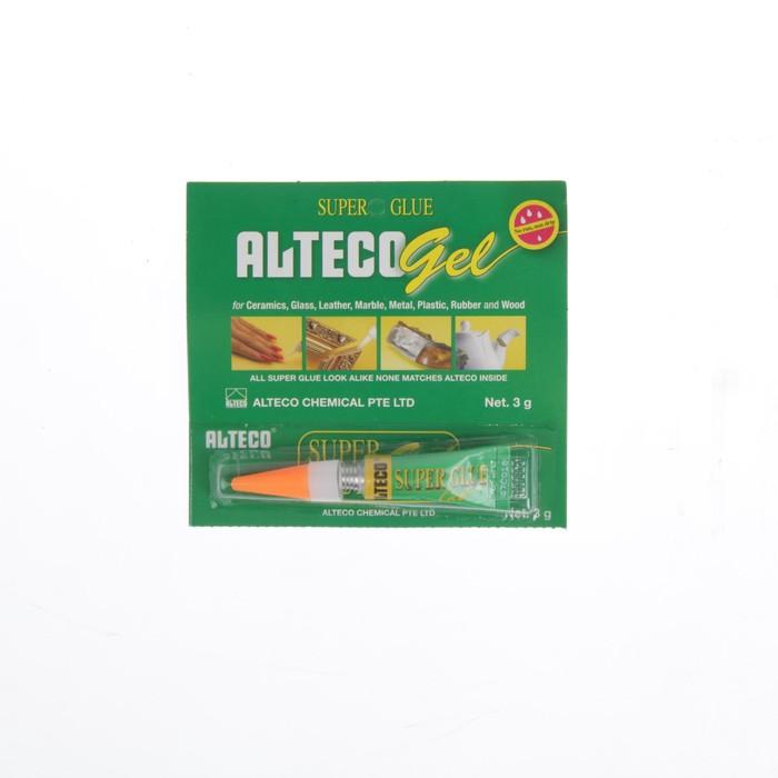 Клей супер-гель Alteco, 3 г