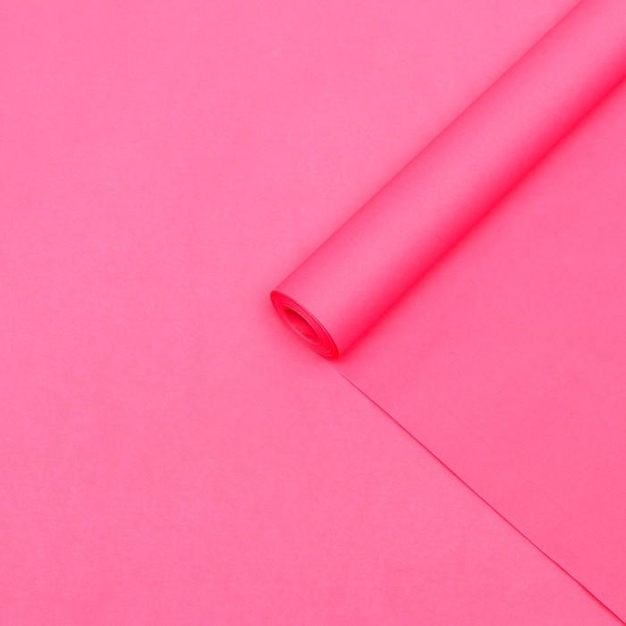 """Калька для цветов """"Ярко-красный"""", 0,5 х 10 м"""