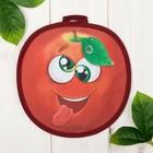 "Прихватка ""Доляна"" Яблоко, 20 х 20 см, 35% х/л, 65% п/э, ватин 250г/м2"