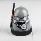 Лизун Slime Ninja, серебряный, 130 г