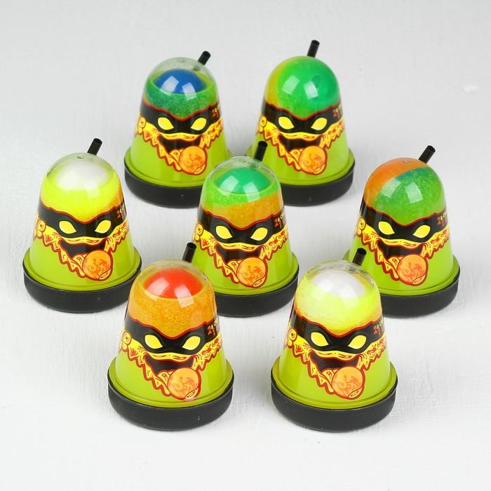 """Лизун Slime Ninja, 2 в 1 """"Смешивай цвета"""", жёлтый и красный, 130 г"""