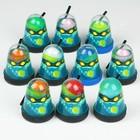 "Лизун Slime Ninja, 2 в 1 ""Смешивай цвета"", синий и жёлтый, 130 г"