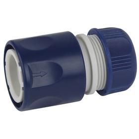 """Коннектор, 1/2"""" (12 мм), пластик"""