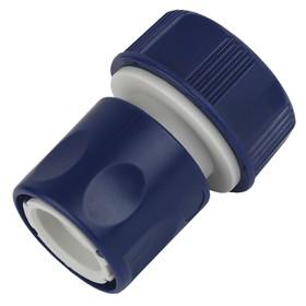 """Коннектор, 3/4"""" (19 мм), пластик"""
