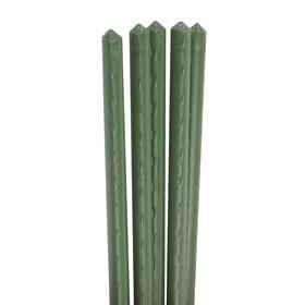 Колышек для подвязки растений, h = 60 см, d = 0,8 см, набор 5 шт., металл в пластике