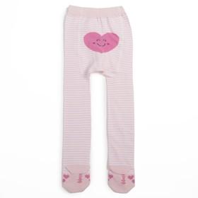 Колготки для девочки КДД1-3086, цвет светло-розовый, рост 68-74 см