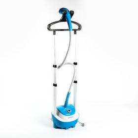Отпариватель Endever Odyssey Q-6, напольный, 2200 Вт, 1800 мл, 50 г/мин, шнур 1.8 м, голубой