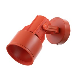 """Светильник """"Прожектор малый"""" 1x60W E27 оранжевый 11x11x24 см"""