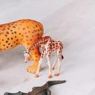 Фигурка животного «Жираф», МИКС - фото 105500475