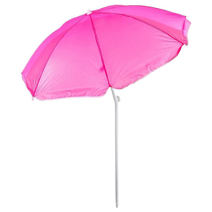 Зонт пляжный «Классика» с механизмом наклона, d=150 cм, h=170 см, МИКС