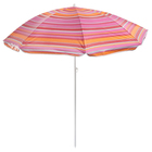 Зонт пляжный «Модерн» с серебряным покрытием, d=150 cм, h=170 см, МИКС