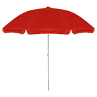 Зонт пляжный «Классика» с механизмом наклона, d=240 cм, h=220 см, МИКС