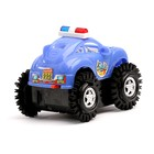 Машина-перевертыш «Полиция», работает от батареек, световые эффекты, цвета МИКС - фото 105649216