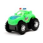 Машина-перевертыш «Полиция», работает от батареек, световые эффекты, цвета МИКС - фото 105649219