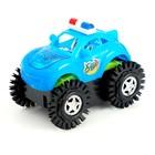 Машина-перевертыш «Полиция», работает от батареек, световые эффекты, цвета МИКС - фото 105649220
