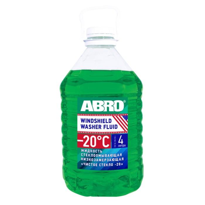 Жидкость стеклоомывающая Abro, -20 С, 4 л WW-200-L