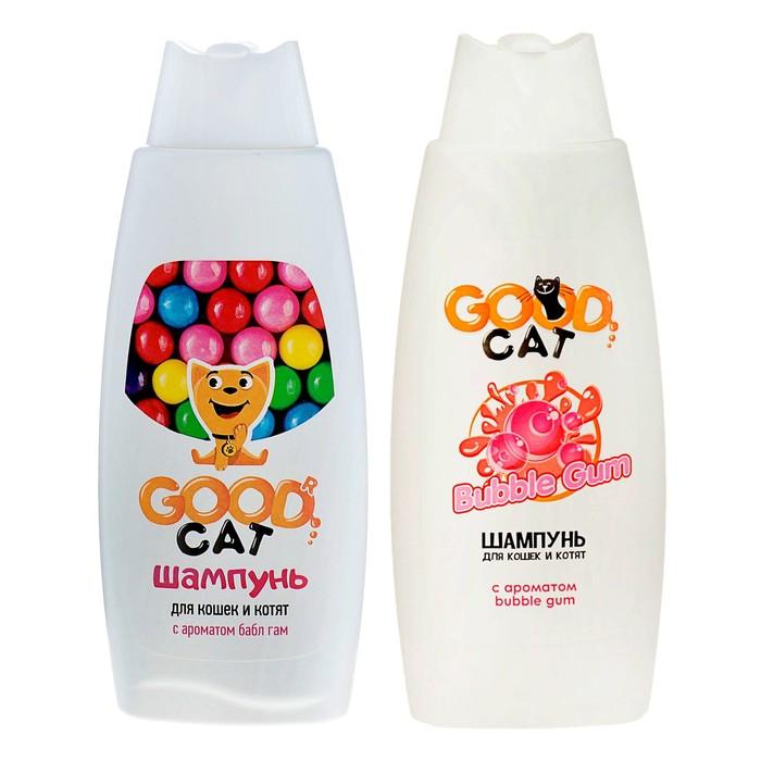 Шампунь Good Cat для кошек и котят с ароматом Bubble Gum, 250 мл -быстрая доставка