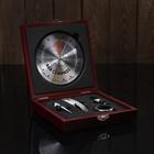 Набор для вина 5 предметов: компас-бар, штопор, пробка, кольцо, каплеуловитель - фото 308028966