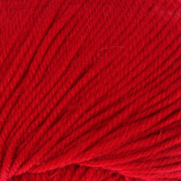 """Пряжа """"Bianca Lana lux"""" 100% шерсть 250м/100гр (856 т.красный)"""