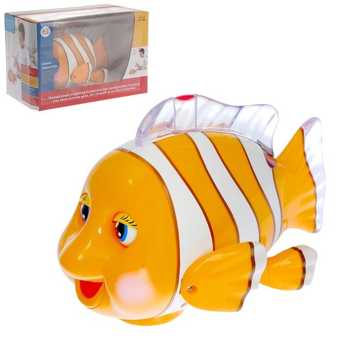 Развивающая игрушка «Рыба-Клоун», световые и звуковые эффекты