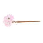 """Гавайская палочка для волос """"Цветы"""", цвет нежно-розовый"""