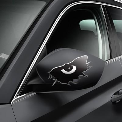 """Набор наклеек на авто """"Черный глаз"""", 2 шт."""