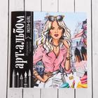 """Раскраска антистресс, альбом """"Insta-girl"""", 20 стр."""