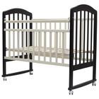 """Кроватка детская """"ЛИРА""""-2 кол/качалка, 120 х 60 см (венге/сл.кость)"""