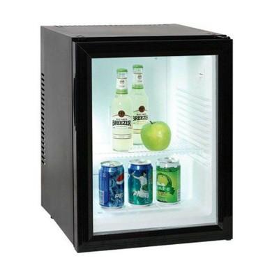 Холодильный шкаф Gastrorag BCW-40B, витринного типа, 40 л, +3 до +10 °С, чёрный