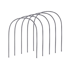 Комплект дуг для парника, полиэтилен 2 м, d = 20 мм, набор 5 шт