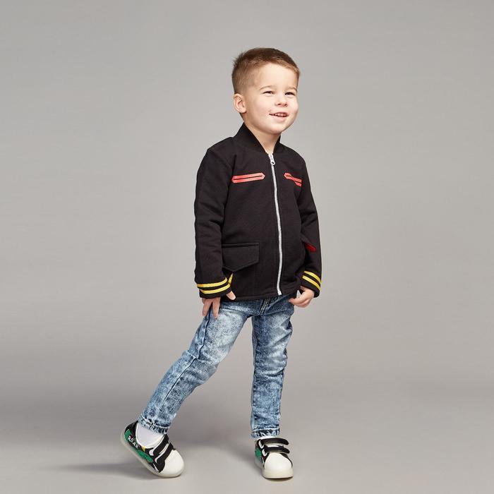 Куртка для мальчика, рост 116 см, цвет чёрный Кр-223