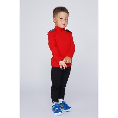 Водолазка для мальчика, рост 116 см, цвет красный Бн-198и