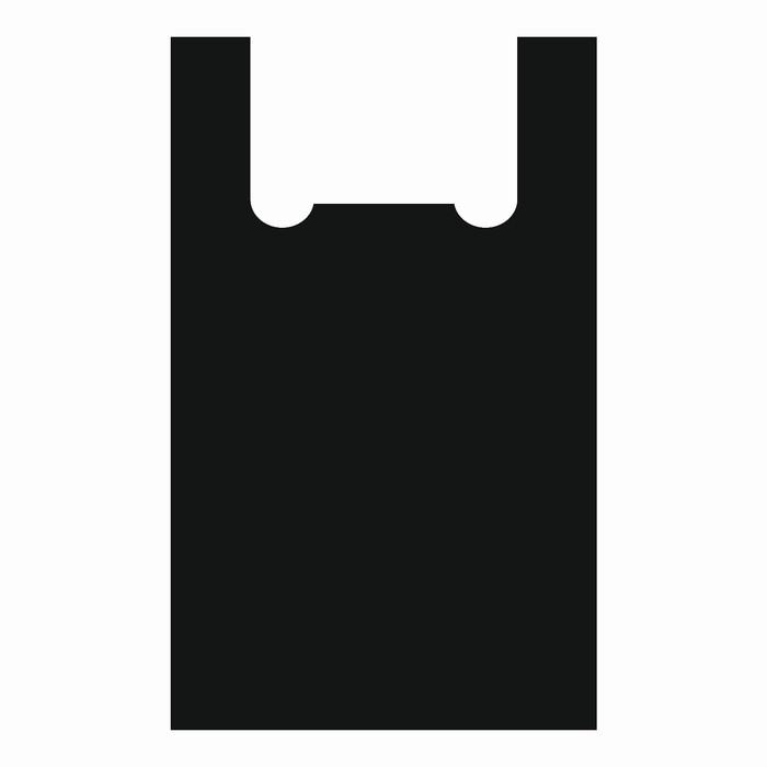 """Пакет """"Силач"""", полиэтиленовый майка, 40 х 80 см, 22 мкм - фото 308983384"""
