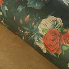 "Бумага упаковочная крафт ""Цветочные тени"", 70 х 100 см"