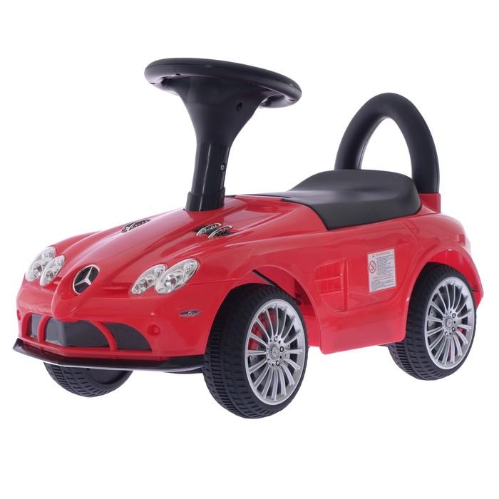 Толокар «Mercedes-Benz SLR McLaren Roadster», цвет красный