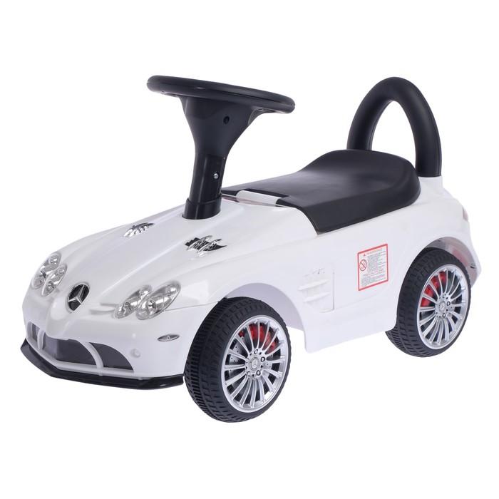 Толокар «Mercedes-Benz SLR McLaren Roadster», цвет белый