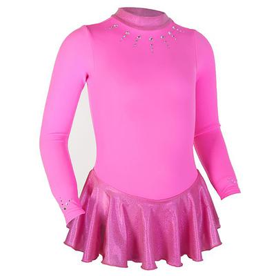 Термоплатье тренировочное, цвет ярко-розовый, рост 116см