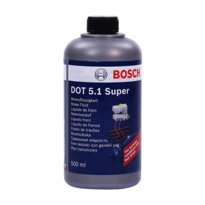 Тормозная жидкость DOT5.1 0.5 л авто с ESP пласт уп 1987479120