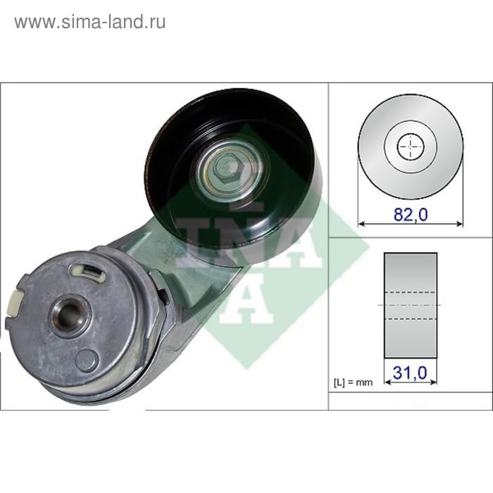 Ролик приводного ремня INA 534037210