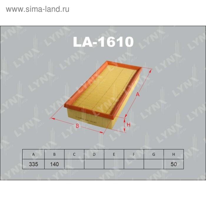 Фильтр воздушный LYNXauto LA1610