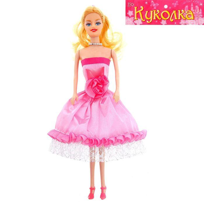 """Кукла модель """"Лора"""" в платье, МИКC"""
