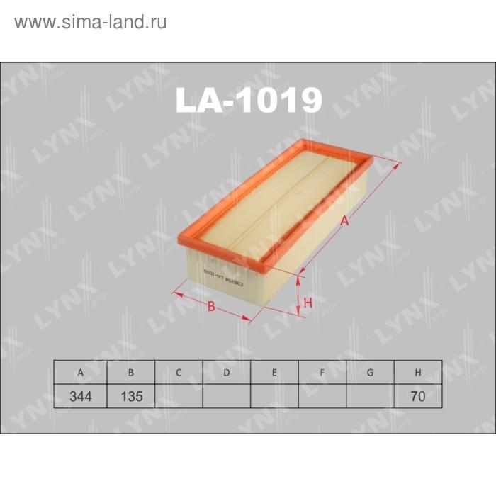 Фильтр воздушный LYNXauto LA1019