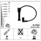 Высоковольтные провода, комплект NGK  RCFD807 8541