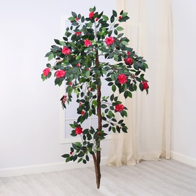 Artificial tree with flowers