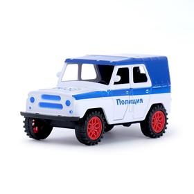Машина инерционная «Джип Полиция», МИКС