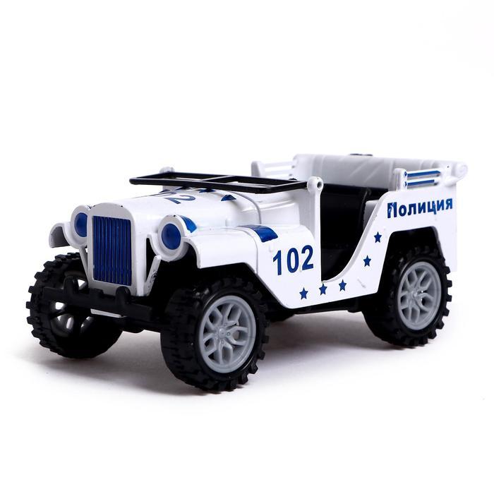 Машина инерционная «Джип» МИКС - фото 1020439