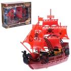 """Набор пиратов """"Пираты черного моря"""", работает от заводного механизма"""