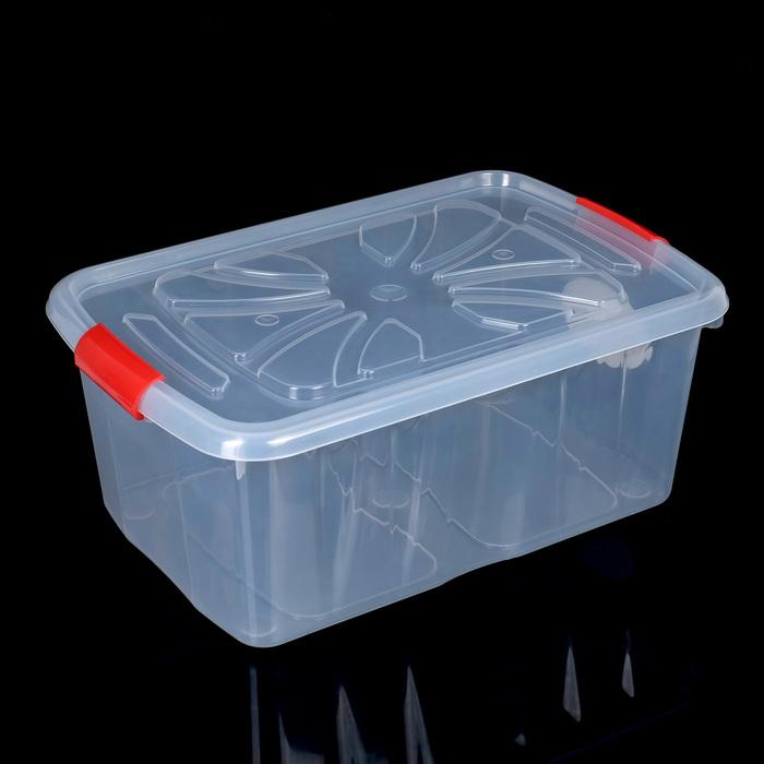 Контейнер для хранения 35 л, цвет МИКС